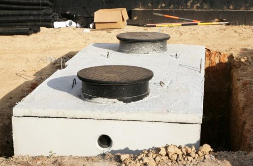 contoh instalasi spetic tank skala kecil untuk rumah tinggal