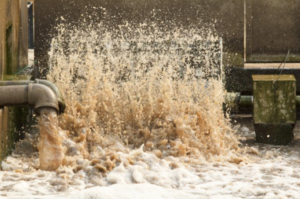 Pengolahan limbah cair skala besar